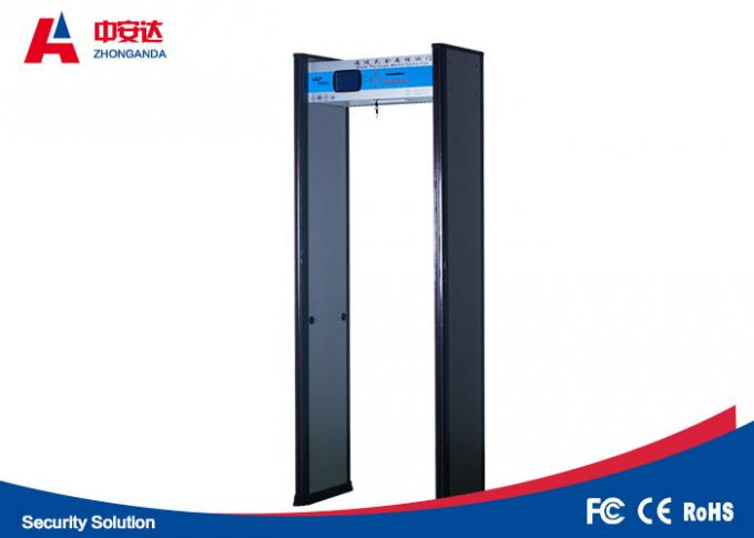 Digital Archway Walk Through Metal Detectors With 18 Detection Zones Convert Function