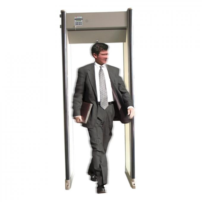 Door Frame Archway Metal Detector 33 Zones with LCD Display China Manufacturer