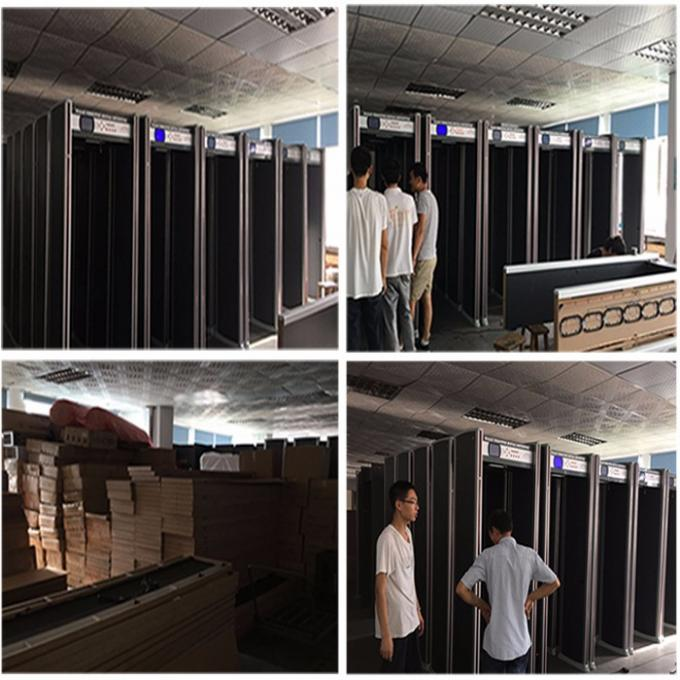 High quality XST-F18 door frame Walk Through Metal Detector