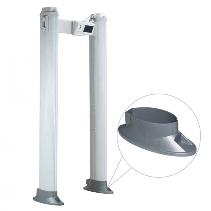 255 Level IP65 Archway Metal Detector With Sound Light Alarm For Bus Station