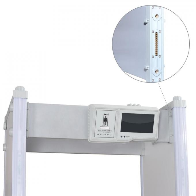 Self Calibration Archway Metal Detector , Multi Zone Metal Detector With Query Function