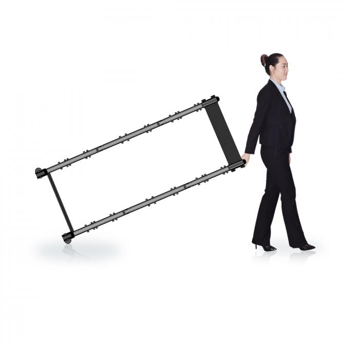 255 Level Sensitivity Door Frame Metal Detector For Passengers Body Scanning