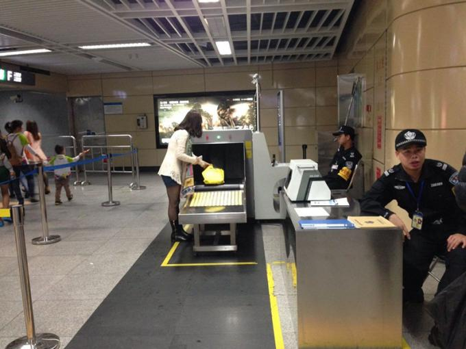 Airport Cargo X Ray Baggage Scanner Professional Parcel Scanning Machine