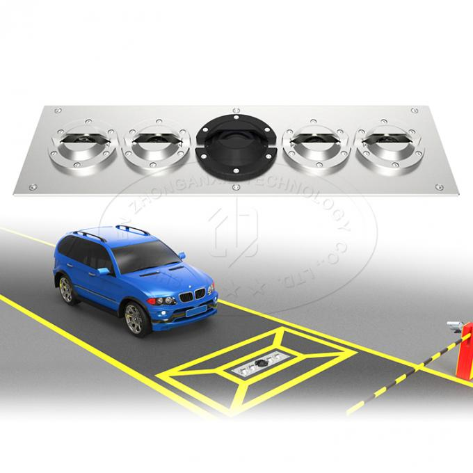 Durable PortableAirport Baggage Scanner Vehicle Inspection System With Car Plate Recognition
