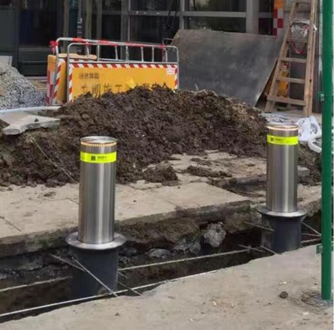 IP67 Automatic Road Barriers Lifting Column Electro Hydraulic Integrated Rising For School