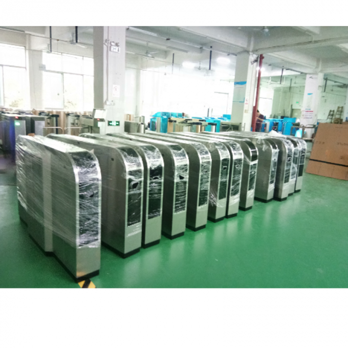 Flap type automatic turnstile control board access control barcode wing turnstile for public transport