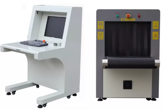Multi Energy X Ray Security Scanner 6550 For Transport Terminals / Prison Security Check X Ray Security Scanner