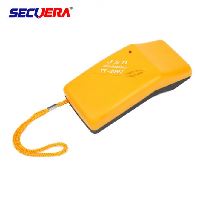 ABS Plastic Shell Portable Broken Needle Metal Detector For Garment / Textile