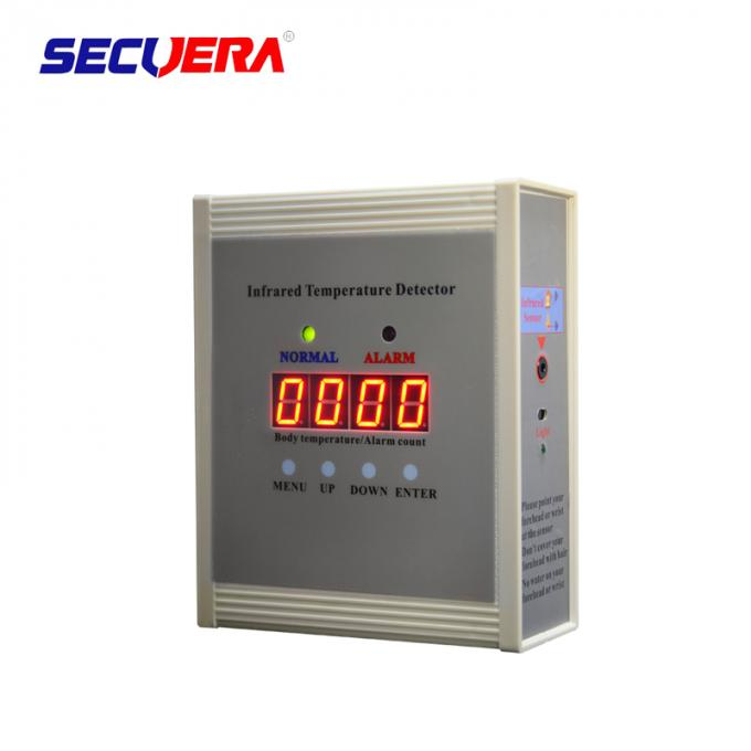 Adjustable Sensitivity Infrared Body Temperature Detector Non Contact Automatic Scanning 0
