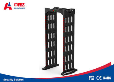 China Foldable Multi Zone Metal Detector 2 Years Warranty With Automatic Counting Function supplier