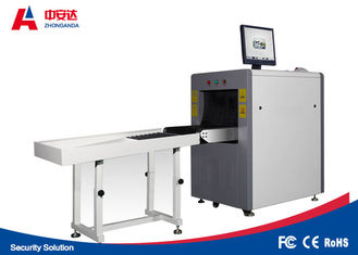 China Horizontal X Ray Baggage Scanner , X Ray Screening Equipment With 19 Inch Color LCD Display factory