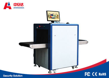 China Stable Reliable X Ray Baggage Scanner With 0.0787mm Metal Line Wire Resolution factory