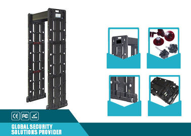 China Amper - Proof Airport Security Metal Detectors For Indoor / Outdoor ZAD-600T supplier