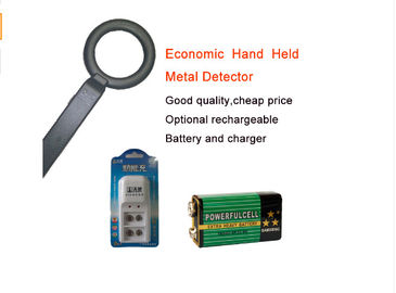 China Circle Probe Hand Held Metal Detector Convenient Storage For Exhibition Security Check factory