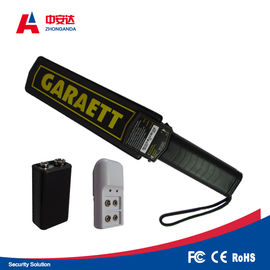 China Ultra Sensitive Security Metal Detector Wand One Button Operation For Education System supplier