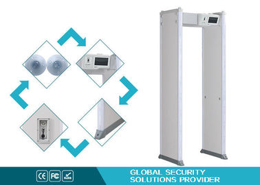 China Double Infrared Body Metal Detectors With Phone App , 24 Detecting Zones supplier