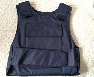 China Military Police Lightweight Bullet Proof Vest / Concealable Stab Proof Vest Soft Body Armor factory