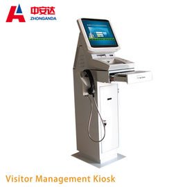 China Kiosk ZA-VM203 Smart Touch Screen For Self Service Visitor Management System factory