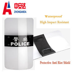 China Customize Size Transparent Riot Shield Safety For Military Police Security Protection factory