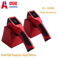 China High Sensitivity Airport Baggage Scanner HandHeld For Explosive Chemical Liquid factory
