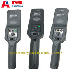250 MA Electricity Saving Hand Held Metal Detector With External Rechargeable Socket Hole
