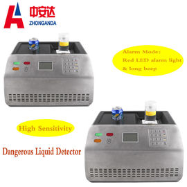 China Dangerous Liquid Airport Baggage Scanner , Portable Water Metal Detector Machine factory