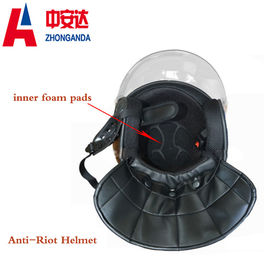 China Knife-Proof Portable Anti Riot Helmet Light Weight  Durable For Police Equipment factory