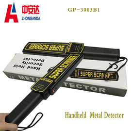 Power Saving Hand Held Metal Detector For Airport Security Checking