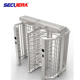 China 120 degree automatic RFID access control full height turnstile price factory