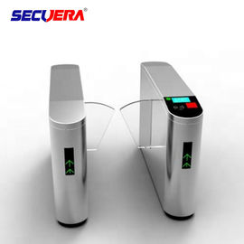 Security Entrance Electronic Fingerprint Used Turnstiles Barrier Gate For Sale