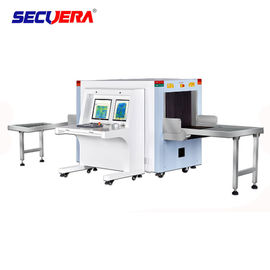 China 6550 Airport X Ray Luggage Machine X-ray Baggage Scanner Dual view cargo scanner X ray baggage luggage scanner factory