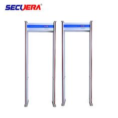China 6 zones cost effective high and stable detection performance archway door frame metal detector for airport factory