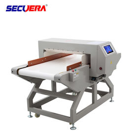 China Food Security Conveyor Belt Metal Detector 25m / Min Belt Speed For Factory Assembly Line factory