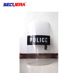 Customize Size Transparent Riot Shield Safety For Military Police Security Protection