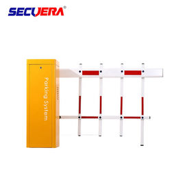 High Precision Automatic Boom Turnstile Barrier Gate Arm Swing Out With AC Motor