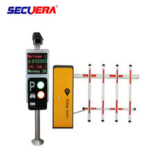 Car Parking System Solutions Turnstile Barrier Gate With Car Camera / Parking Sensor