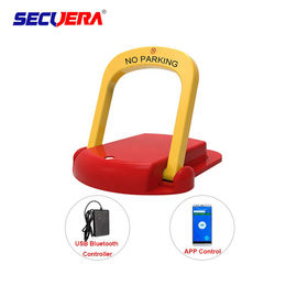 China Vehicle Portable Parking Lot Barrier Lock 304 Steel APP Operated USB Bluetooth factory
