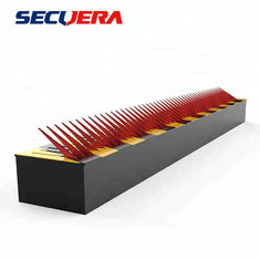 China Metal One Way Traffic Flow Plate Hydraulic Rising Bollards For Security Spike Barrier Lock factory