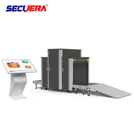 China 304 Stainless Steel X Ray Screening Machine Airport Cargo Baggage Security Check factory