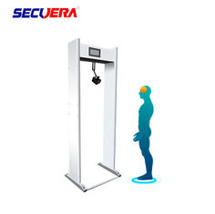 China Door Frame Walk Through Metal Detector  Temperature Measurment For Supermarkets factory