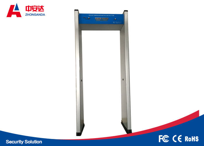 Single Zone Walk Through Metal Detector For Event / International Conference supplier