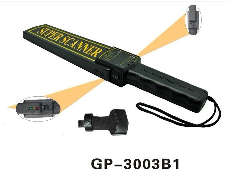 Diameter 20mm Hand Held Security Detector 24 Months Warranty For Public Area supplier