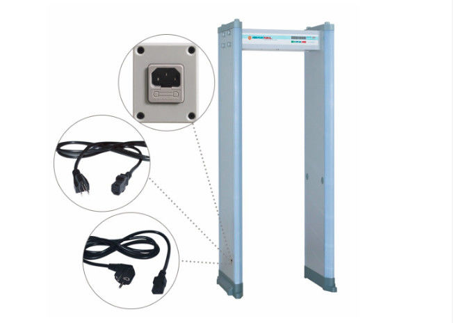 18 Zone Walk Through Gate Scanners For Super Sensitivity Clip Detection supplier