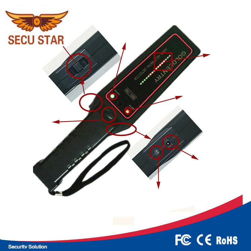 270G Weight Handheld Metal Detector Wand For Timber Inspection Nails supplier