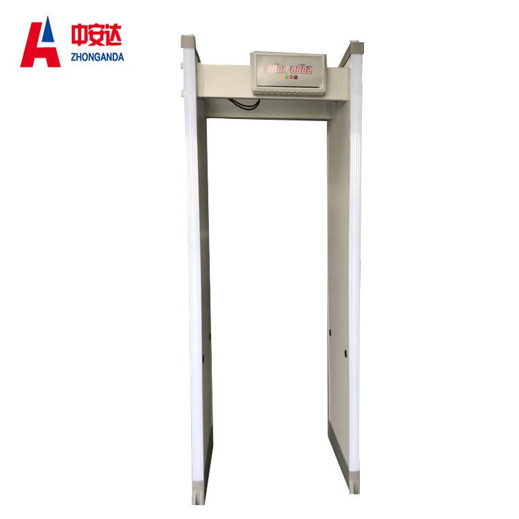 45 Zones Full Body Metal Detectors With Dual High Brightness Red LED Display supplier