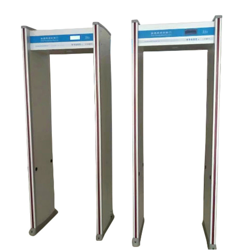 8 Zones Walk Through Metal Detector Humanoid Alarm Indicator Door Frame Light Alarm supplier
