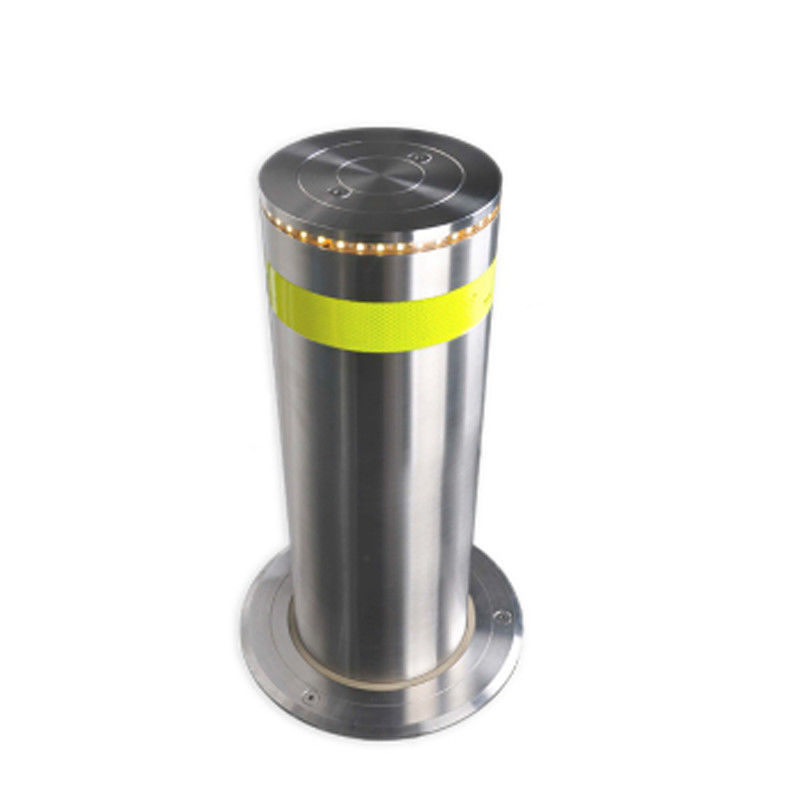 High Lifting Speed Hydraulic Rising Bollards Stainless Steel Retractable Traffic Road Safety supplier