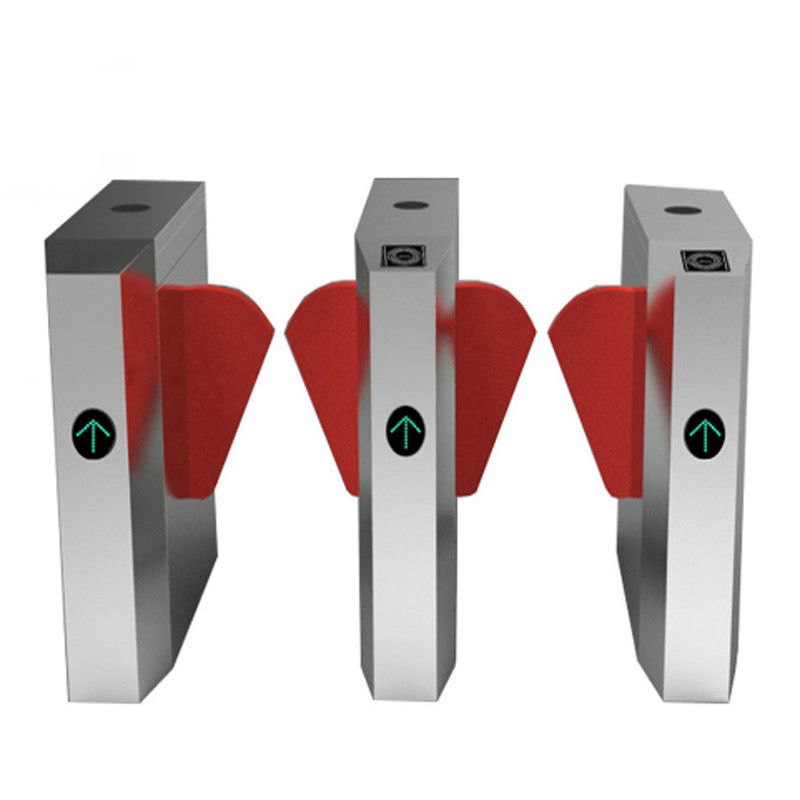 Supermarket Barrier Posts Turnstile Access Control Security Systems High Sensitivity supplier