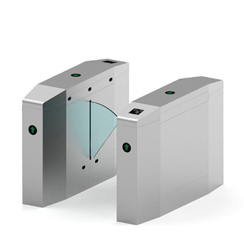 Anti Breakthrough Automatic Turnstiles Fingerprint Color OEM For Disabled Access supplier