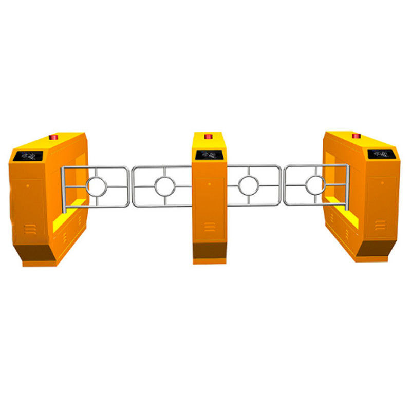 Entrance Swing Turnstile Barrier Gate Access Control System 600mm Passage Width supplier